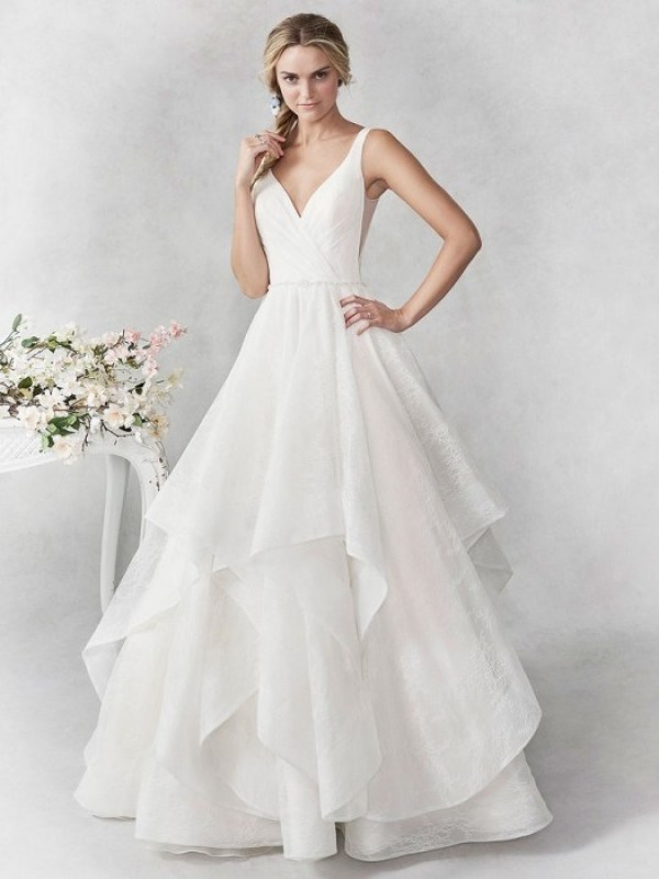 Blissful Ballgowns For Your Warm Weather Wedding