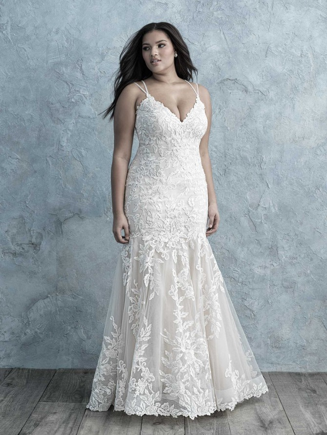 Allure Women Celebrates Plus Size Wedding Dresses