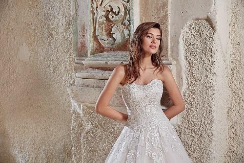 New-York-Bride-Groom-Columbia-Eddy-K-strapless-ballgown-wedding-dress-EK1274